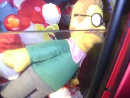 Ned Flanders plush doll at Red Robin by ATwistintheMyth