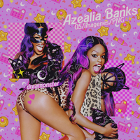 + Pack PNG || Azealia Banks. by dreamonsters