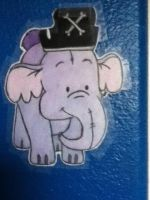 Pirate Heffalump by drunkonayle