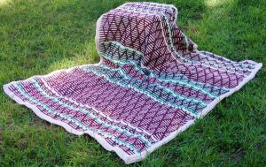 Christmas Afghan by sweetmarly