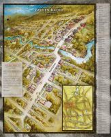 Tourist map of Bastien-Racine by felixgi