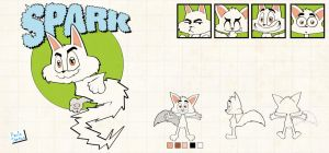 model sheet - Spark by Captain-Paulo