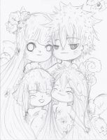 The NaruHina Family-Look at our kids by NelNel-Chan