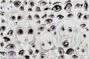 Many Kinds of Eyes by OtakuEC