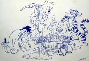 Winnie the Pooh by ArtClem