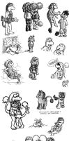 Not 'nother stinkin' doodle dump by Negaduck9