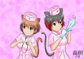 Neko Nurses Daya Request by yoshirosato