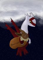 Latias' and Eevee's Delivery by Resistance-Of-Faith