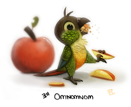 Day 607. Green Cheek Body Language Guide - 03 by Cryptid-Creations