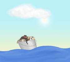 Cath's Cat Boat by Cushies