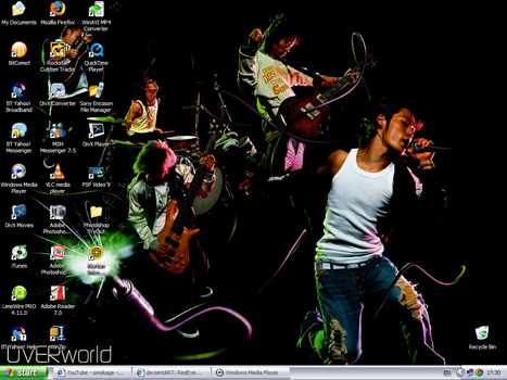 July Desktop - UVERworld by RedEyesMetal