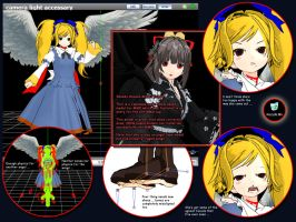 MMD Michel San Angelo - Model Review by Trackdancer