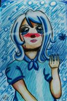 Humanized Snowdrop by leafyloo