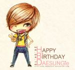 HBD to Daesung by hebi-mamecafe