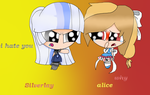 alice and Silverlay by rainbow223