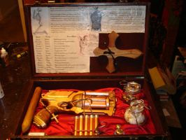 Steampunk Vampire Kit 2 by DrJubal