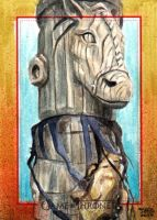 GAME OF THRONES SKETCH CARD by JASONS21