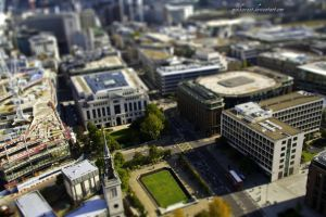 Tilt-Shift London by maikarant