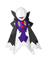 Slenderman Fakemon by bellpup