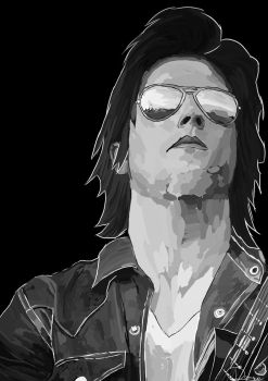 Synyster Gates Drawing by Daniquee502