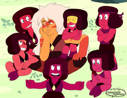 Jasper, Ruby and the rubies by RubyArt15