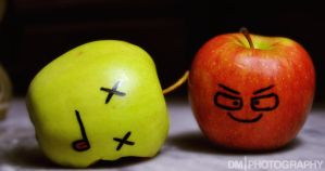 Red Apples Are Evil 2 by Concept-X