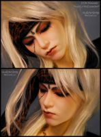 Face-up+Tattoo: DIM MNM Hide by asainemuri