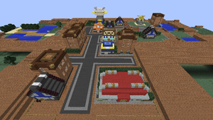 Minecraft Sinnoh: Eterna City by NinjaKirby144