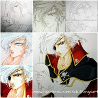 Captain Harlock WIP (work in progress) by Suki-Manga