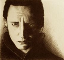 Loki - Ballpoint Pen by ShadowSeason