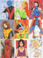 X Men Archives Sketch Cards 22 by wheels9696