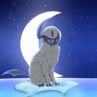 Absol by foxlett