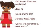 Tina Lana Lockwood by PrincessCosmo