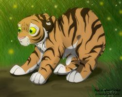 Tiger's fear by NaLa-aka-Umka
