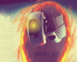 Portal 2 Wallpaper by Fangschrecke