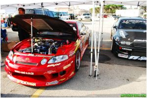 JZZ30 Toyota Soare engine shot by motion-attack