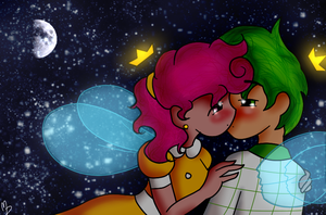Night Time Kiss by Minkerdoodle