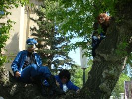 Climbing - Hetalia Photoshoot by Blind-Fox
