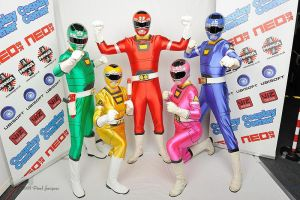 turbo rangers cosplay group by matt3335