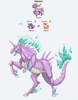 Pokemon Fusion: NidoDash by Fwa-tair