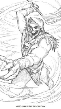 Skeletor , Masters of the universe by JesusAConde