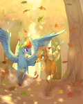 Autumn run by Kaakaosusi