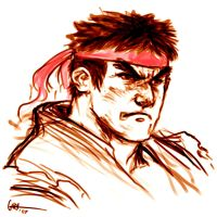 Ryu fanart by Curryz