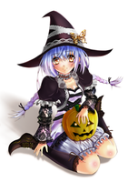 HELLOWEEN Witch by Amayofoo