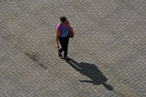 walking with your shadow by Mittelfranke