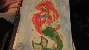 The Little Mermaid by SpiritAngel1234