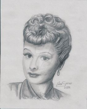 I Love Lucy by Artsy50