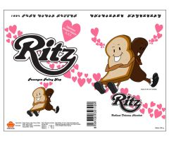 RITZ - Chocolade Hagelslag by tracingstruckted