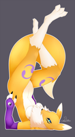Renamon by DrakeRaynier