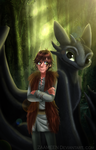 HTTYD - Hiccup and Toothless by zaameen